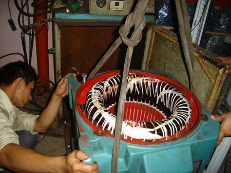sửa chữa motor